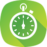 Green Stopwatch Icon